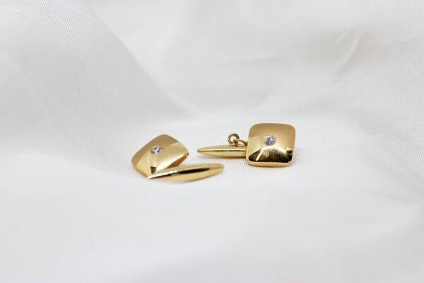 Botões de Punho Ouro